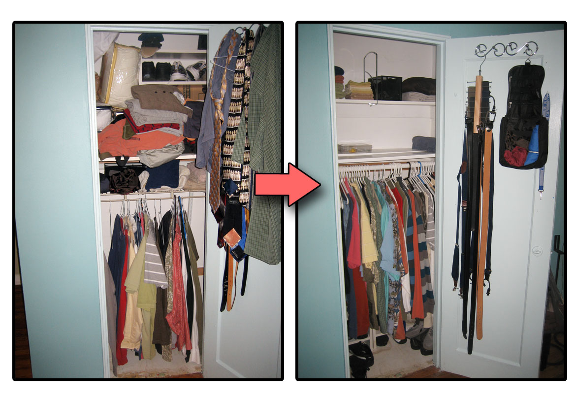 organizing on a budget closets make space